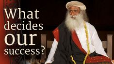 A seeker asks Sadhguru whether luck, fate and God decide our success. Sadhguru tells us that whether they play a role in being successful or not is not something we need to bother about. It is more important to focus on making incisive effort.