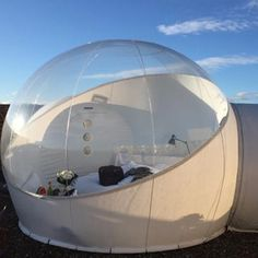 Bubble House, Bubble Tent, Tent Design, House Design, Cool Furniture, Outdoor Furniture, Futuristic Home, Space Architecture, Camping Ideas