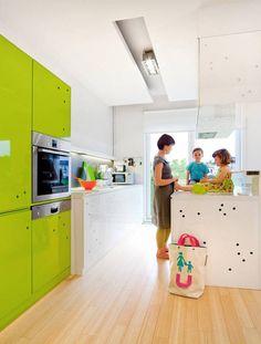 Kolorowe meble kuchenne | lemon kitchen