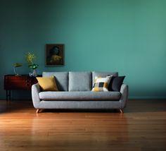 Wayne Hemingway brings back vintage furniture in style | love the colours!