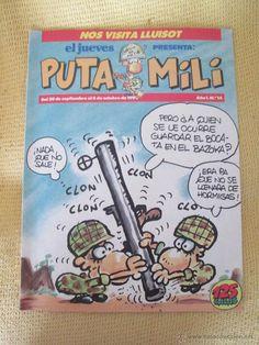 REVISTA EL JUEVES PUTA MILI Nº14 - 1992