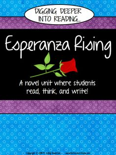 """This is one of my all time favorite books to read with students. Whether it be as a whole class read aloud or a book study in small groups, this resource can help you """"dig deeper"""" into this wonderful text.  From teaching points to graphic organizers, to written responses to reading, this resource is geared toward helping you raise the level of understanding in your students.  $"""