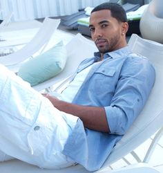 Happy birthday to Christian Keyes - born July 24th .He is an American actor, model and singer. He is starring as Levi Sterling in the Bounce TV prime time soap opera, Saints & Sinners