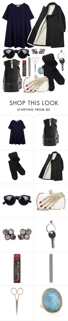 """""""8:54 pm / 01.18.17"""" by candicejessup ❤ liked on Polyvore featuring Chinti and Parker, Aéropostale, Alexander McQueen, Maison Margiela, Burt's Bees, Anastasia Beverly Hills and Marco Bicego"""