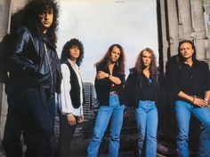 Queensryche - they meshed together so well musically. Their sound was really locked down, and then DeGarmo left...