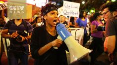 Charlotte police shooting: Protesters in Charlotte request release of sh...