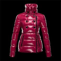 e0498d73397 site officiel Doudoune Moncler Femme pas chere DAIM Bordeux Short Jackets