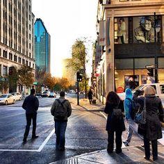 Rue Peel le matin #Montreal