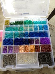 Rainbow Loom Kit 400 13500 Bands Set with Storage Case Box Organiser