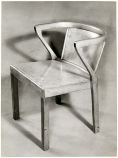 Chair designed by Alvar Aalto
