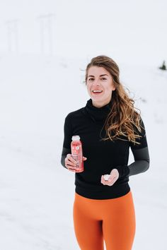 cold weather runs in adidas orange warp knit tights for a pop of color when you workout Digital Marketing Strategist, Running In Cold Weather, Butt Workout, Stay Fit, Fitness Inspiration, Color Pop, Fitness Motivation, Tights, Abs