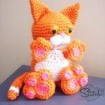 Cute Cat - Why I follow crochet patterns.