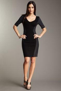 BCBG color block dress $98