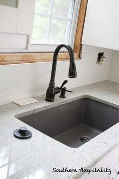 Newly Installed Ikea Kitchen Blanco Cinder Sink I87