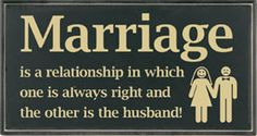 Marriage...