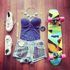 skater girl out fit