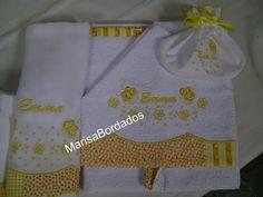 Toalha de banho com capuz e toalha fralda