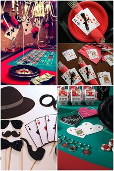 63 best casino themed events images in 2019 vegas party, cas Casino Party Decorations, Casino Party Foods, Casino Theme Parties, Party Centerpieces, Stage Photo, Casino Night Food, Mad Hatter Party, Casino Cakes, Poker Chips