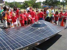Principia College Ra7 solar racer