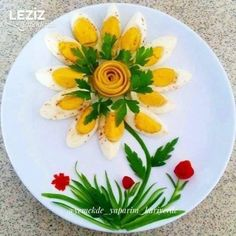 Amazing Food Decoration, Cute Food, Yummy Food, Appetizer Recipes, Appetizers, Food Art For Kids, Creative Food Art, Food Carving, Food Garnishes