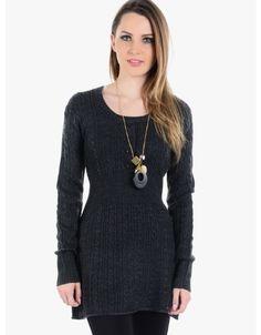 My Favorite Sweater Dress  Gray