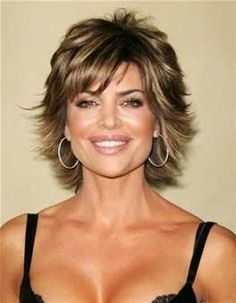 love the color and the cut Short Shag Hairstyles For Women Over 50 - Bing Images