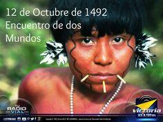 12 de Octubre... día para celebrar la mezcla cultural de los pueblos de nuestra américa. ¡Feliz domingo!
