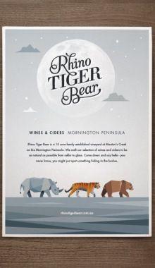 Rhino Tiger Bear On Branding Served Served