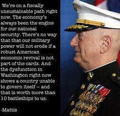 By BI: Take a look below the video, to see how this highly-respected general was very Patton-like in the way he commanded his troops and dealt with the suits in Washington. Marine Corps General James 'Mad Dog' Mattis, a military hero forced to retire Military Quotes, Military Humor, Usmc, Marines, General James Mattis, Marine General, Donald Trump Talking, Once A Marine, Us Marine Corps