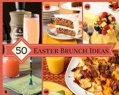 50 Easter Brunch Ideas ~ http://www.garnishwithlemon.com