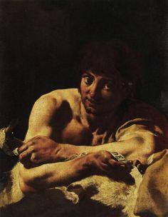 Giovan Battista Piazzetta - San Giovanni Battista - 1730