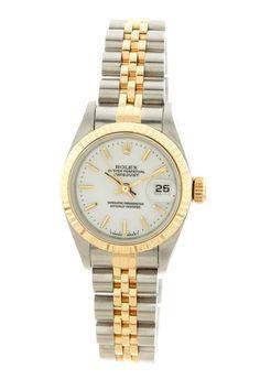 Rolex Women's Datejust Watch by Designer Estate Watches on @HauteLook