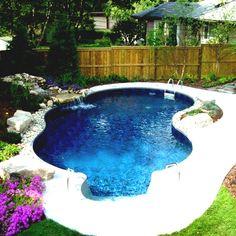 Lieblich Nach Hause Hinterhof Design Ideen Auf Einem Budget Pool Midcenturypact  #Gartendeko