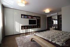 Interiér rodinného domu v Bratislave - spálňa