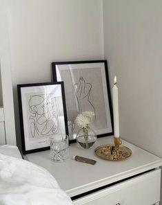 Room Design Bedroom, Room Ideas Bedroom, Home Room Design, Bedroom Styles, Bedroom Decor, Creation Deco, Cute Room Decor, Aesthetic Room Decor, My New Room