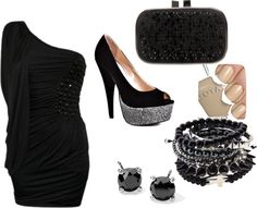 """""""Going out"""" by djsr on Polyvore"""