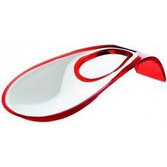Repose cuillères Latina rouge Guzzini 13.90 € livré gratuitement dans le relais colis de votre choix !
