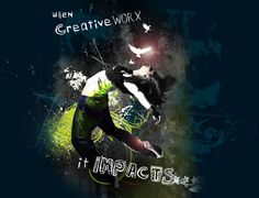 When Creative Worx, It Impacts. Self promotion piece for magazine.