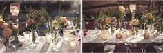 Whimsical mismatched table decoration by SposiamoVi Photo @J&S Stephanie