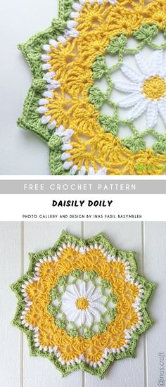 crochet doilies Using mm hook and Sports yarn you are able to make the amazing crochet doily like this below. Fabulous idea for the gifts, to your home decoration on special occasions Free Crochet Doily Patterns, Crochet Motif, Easy Crochet, Free Pattern, Crochet Coaster, Crochet Ideas, Crochet Edgings, Crochet Shawl, Ravelry Crochet