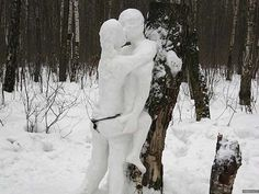 Snow Much Fun.....  Some People Just Know Have Winter Nailed... These are my kind of people! LOL  — 22 Pics  #CheckOutAllPhotos