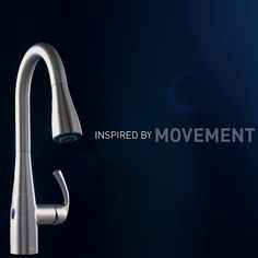 Control your faucet with a wave of your hand. MotionSense. Inspired by Movement. Innovated by Moen.