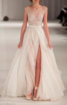 Favourite, favourite, favourite wedding dress ever.  Paolo Sebastian's 2012-13 ss couture