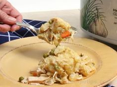 Slow Cooker Chicken and Biscuits Recipe