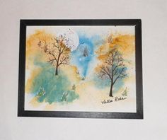 Original artwork; From Dusk to Dawn original watercolor; spiritual art; home decor painting; wall decor; wall hanging