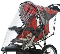 """Product review for InStep Weather Shield Single for Swivel Wheel Jogger/Stroller - The weather shield is designed to keep your child warm and dry in the elements ans quickly attaches when the weather changes.       Famous Words of Inspiration...""""What makes us men is that we can think logically. What makes us human is that we sometimes choose not..."""