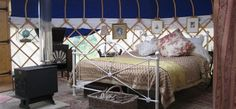 How cool - you can stay in a Yarlington Yurt in Somerset!
