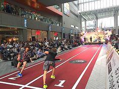 中村アン、ノブコブ吉村が本気ダッシュ 「リーボック」秋の新作を発表 | EVENT | FASHION | WWD JAPAN.COM