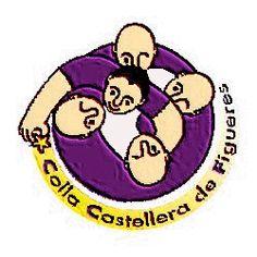 Logotip de la Colla Castellera de Figueres
