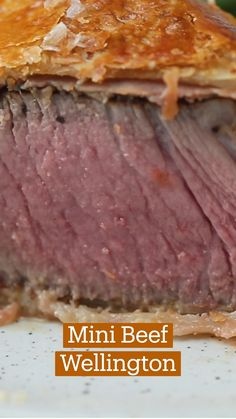 Beef Wellington Recipe, Wellington Food, Meat Recipes, Dinner Recipes, Cooking Recipes, Beef Dishes, Diy Food, Love Food, Food To Make